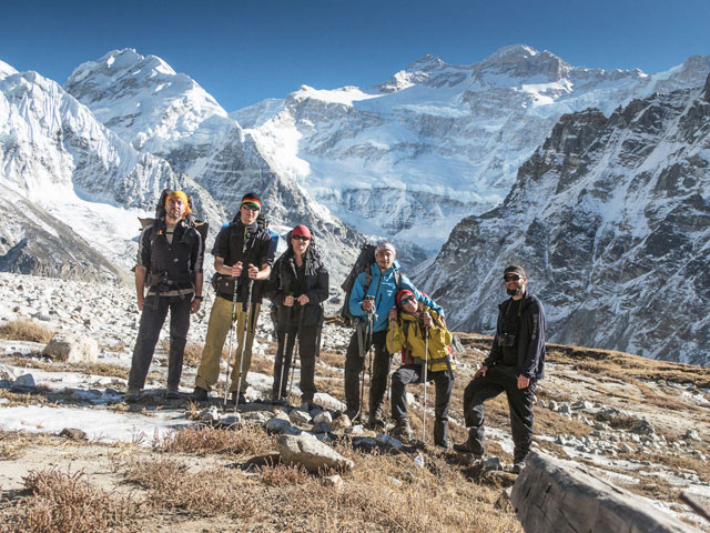 Mountaineering in India in Himalayas