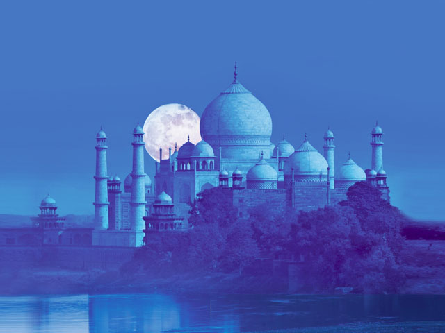 Taj Mahal UNESCO World Heritage Site- part of golden triangle circuit in india- ons of the best reason to explore india