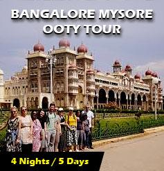 Bangalore Mysore Ooty