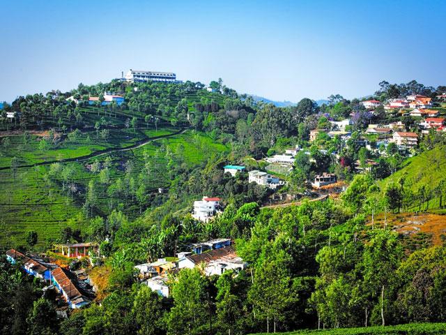 Hill Top in Karnataka in South India- Coonoor