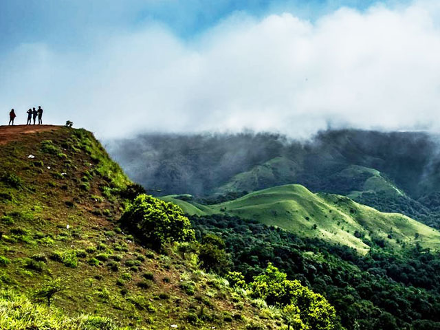 Hill Stations in South India- Coorg hill top in Karnataka