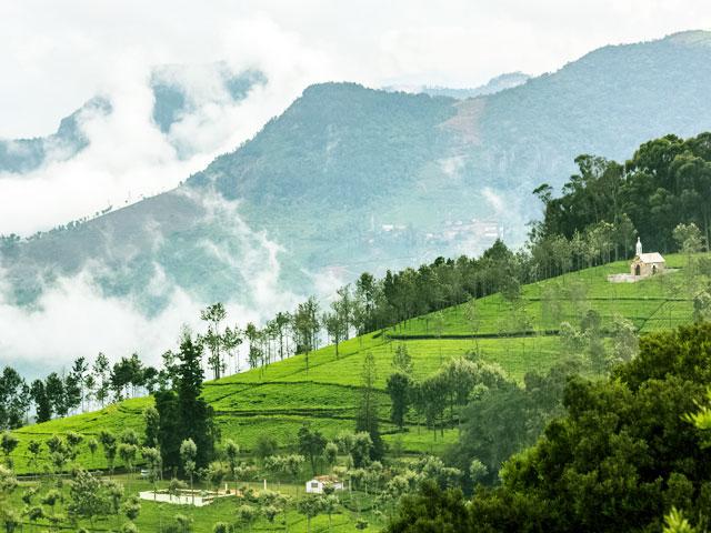 Kotagiri Hill Top in Tamil Nadu