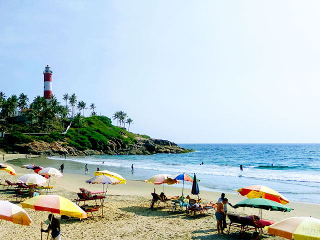 things to see in kerala- Kovalam Beach Kerala