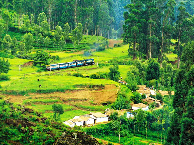 Hill Station in South India in Tamil Nadu- Ooty