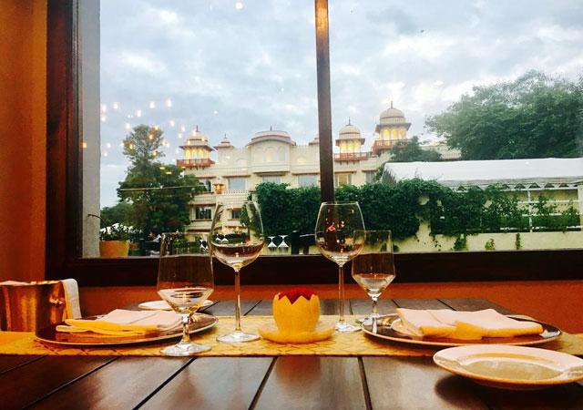 Honeymoon at Jai Mahal Palace Jaipur