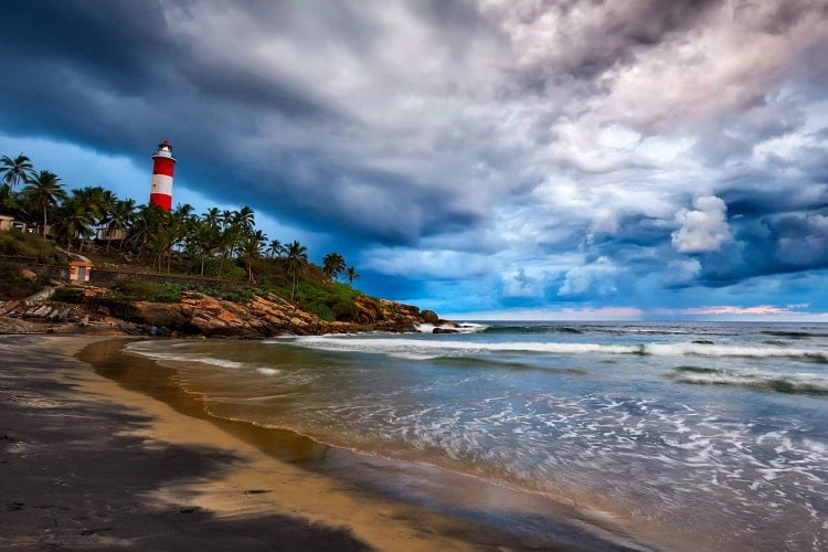 Kovalam-  Get rejuvenated on the beach heaven with adventure or Ayurveda