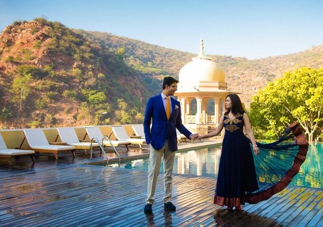honeymoon at Samode Palace jaipur