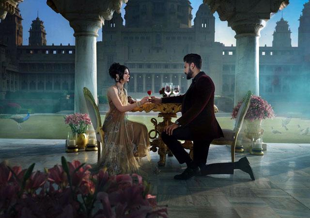 honeymoon at Umaid Bhawan Palace Udaipur