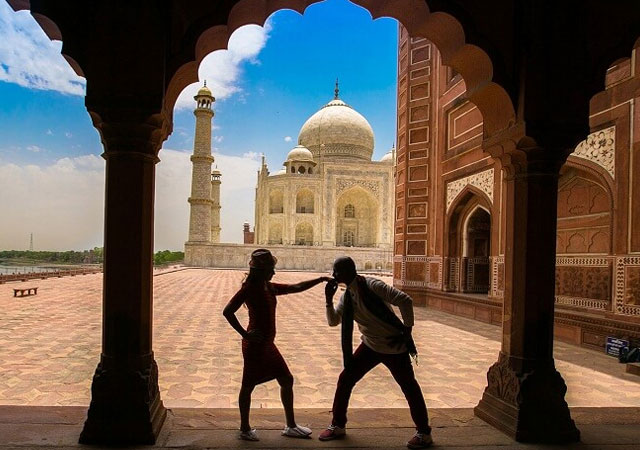 Romantic Places to Go on Valentine's Day in agra