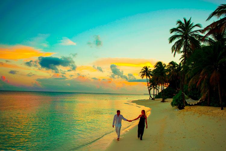 beach honeymoon in india