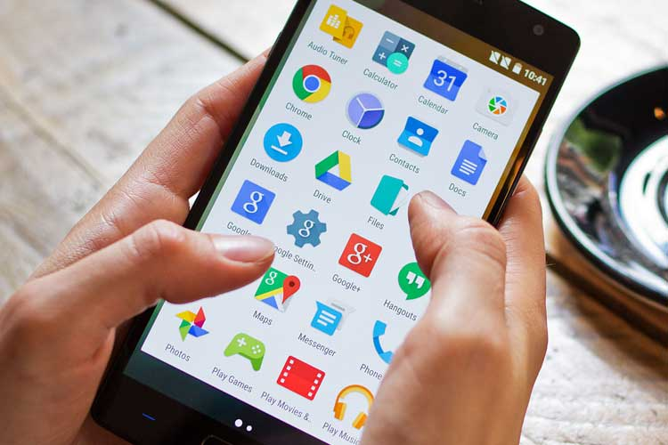smartphone apps use