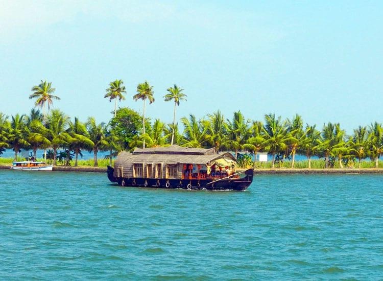 backwaters in kumarakom: best places to visit in kerala in winter