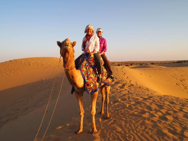 camel safari in jaisaler: place to visit in winter in rajasthan