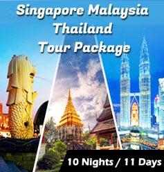 thailand malaysia singapore tour package