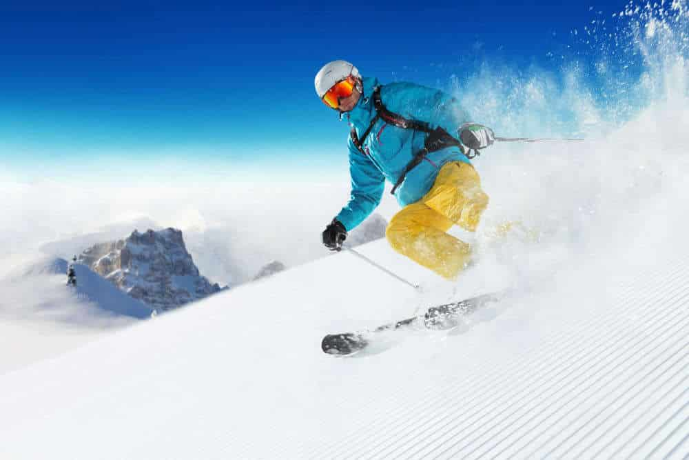 skiing in auli- places to visit in winter in india