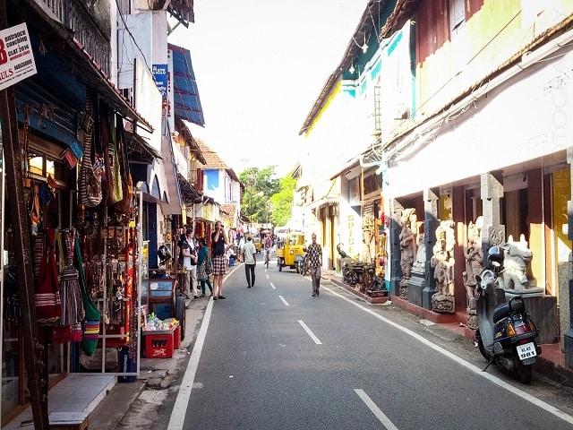 things to see in kerala-  Jew Street Kerala