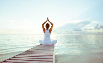 Meditation in Morning