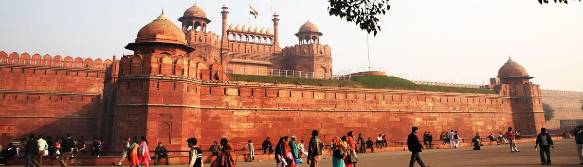 red-fort delhi