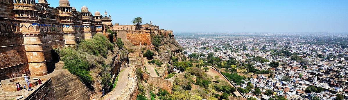 Gwaliar Fort in Gwaliar