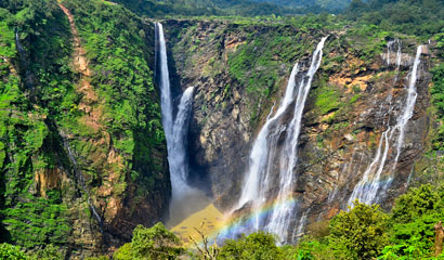 Shimoga to Jog Falls Tour From Bangalore