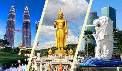 10 Days Thailand Malaysia Singapore Tour