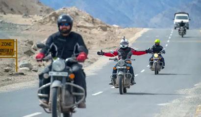 Lahaul Spiti Valley Bike Tour