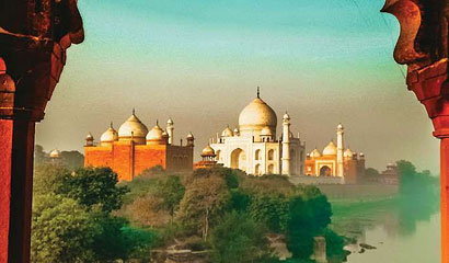 Taj Mahal with Bandhavgarh