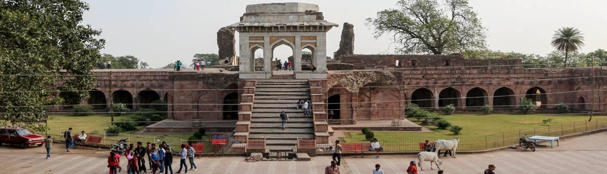 Ashrafi Mahal in Mandu