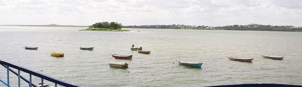 Bhojtal Lake in Bhopal