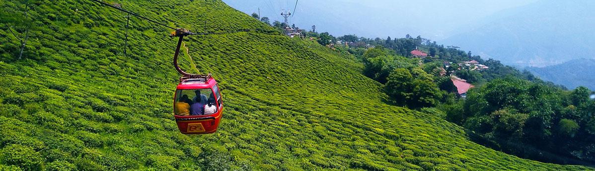 Cable Car, Darjeeling