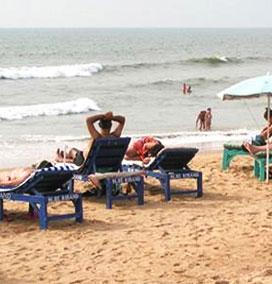 Chapora Beach, Goa