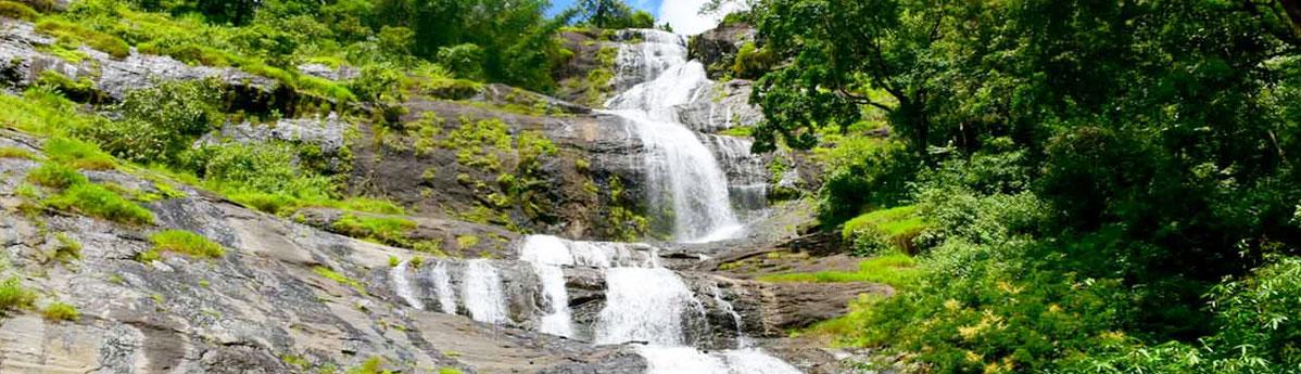 Cheeyappara Waterfalls Munnar
