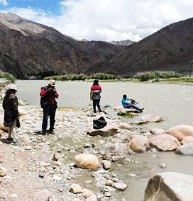 Chumathang Hot Spring, Ladakh