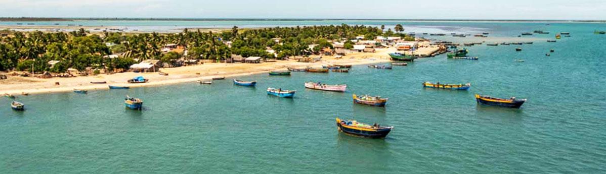 Dhanushkodi Beach, Rameshwaram