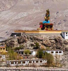Diskit village, Ladakh
