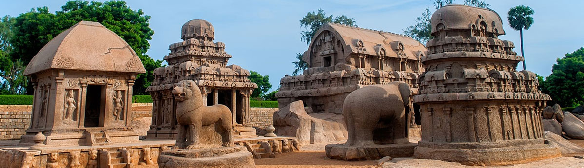 Five Rathas in Mahabalipuram