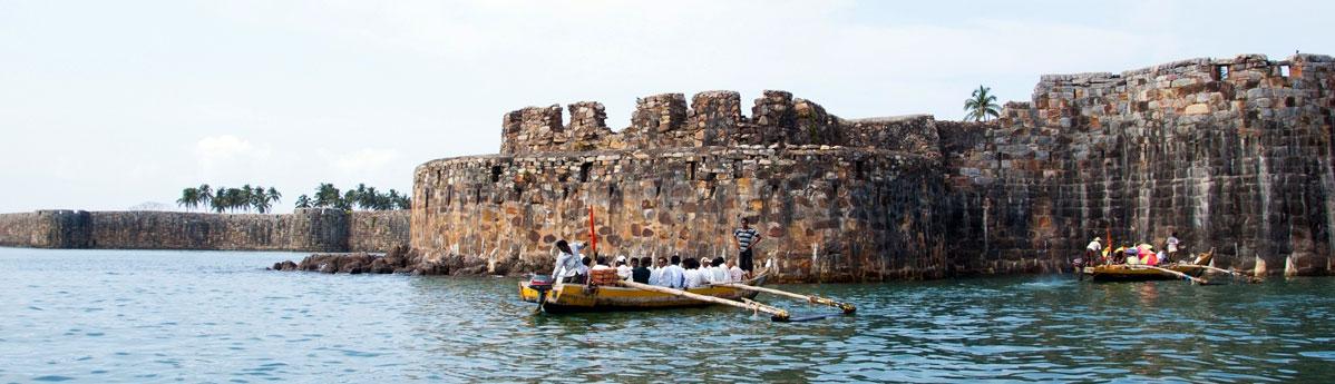 Khanderi fort, Alibaug