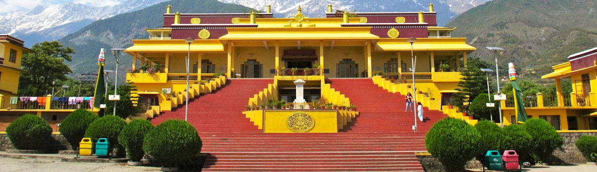 Namgyal Monastery in Dharamshala