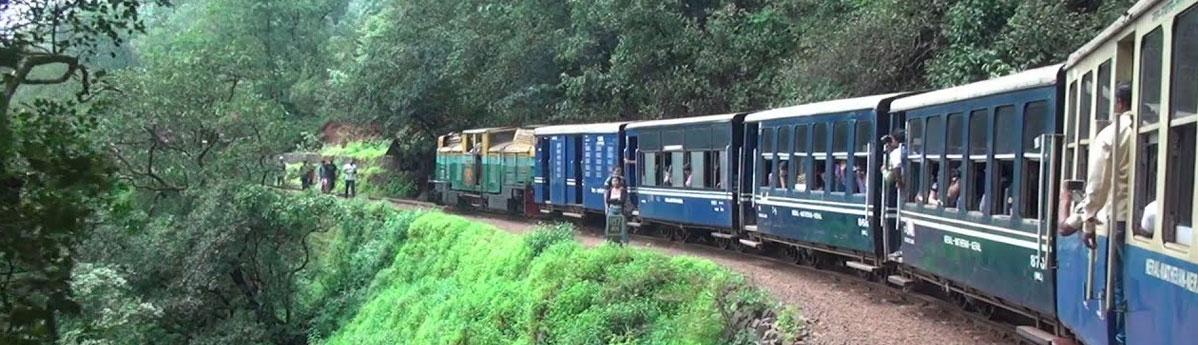 Neral Toy Train in Matheran