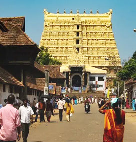 Padmanabhaswamy Temple in Trivandrum