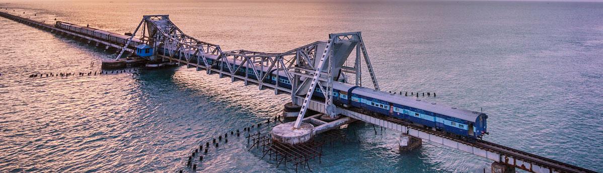 Pamban Bridge, Rameshwaram