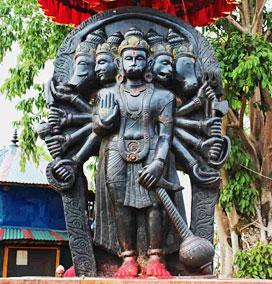 The Five Faced Hanuman Temple, Rameshwaram