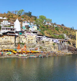 Parikrama on the Island Omkareshwar