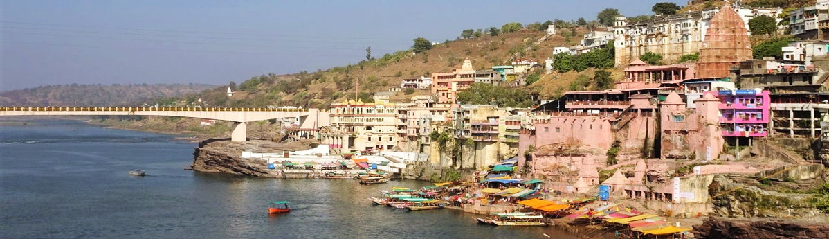 Parikrama on the Island in Omkareshwar