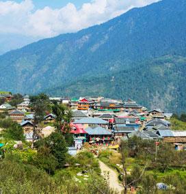 Sarchu Village