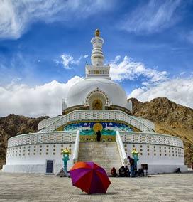 Shanti Stupa, Ladakh