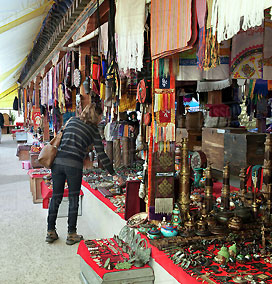 Shopping in Thimphu