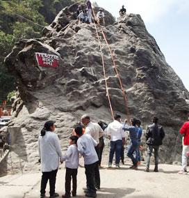 Tenzing Rock, Darjeeling